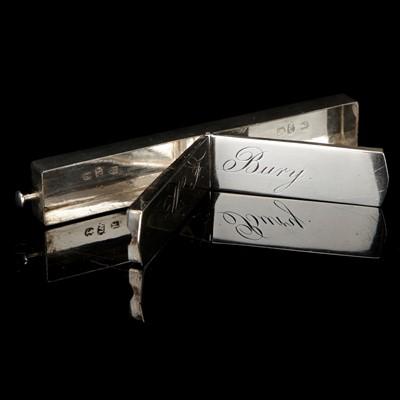 Lot 20-A Georgian Silver Toothpowder Box