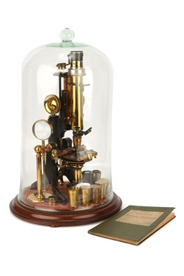 Lot 1-A Large Exhibition 'Dick' Petrological Microscope