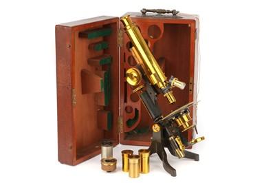 Lot 13 - A Petrological Microscope