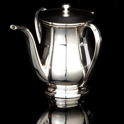 Lot 29-A William IV Silver Invalid Feeding Cup