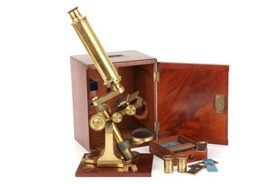 Lot 15-A Victorian Society of The Arts Type Microscope