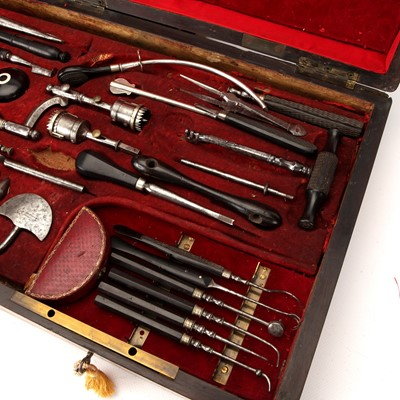 Lot 40 - An Extensive French Surgical Instrument Set