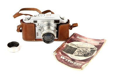 Lot 1085 - An Ilford Witness Rangefinder Camera