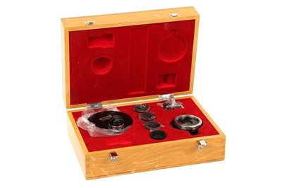 Lot 35-A Cased Nikon Phase Contrast Set