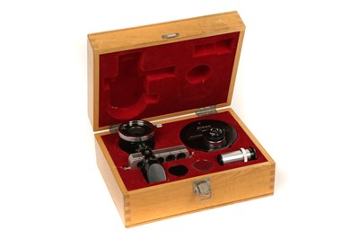 Lot 36-A Cased Nikon Phase Contrast Set