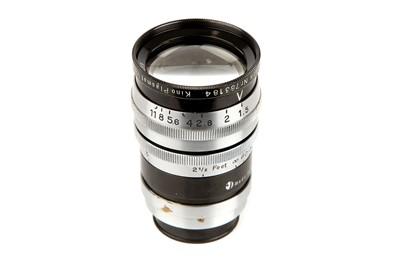 """Lot 1293-A Hugo Meyer Kino Plasmat f/1.5 2"""" Lens"""