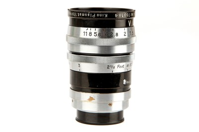 "Lot 1293 - A Hugo Meyer Kino Plasmat f/1.5 2"" Lens"