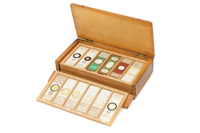 Lot 10-A Collection of Chemical Crystals & Polarising Microscope Slides
