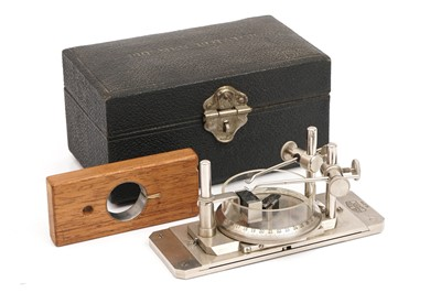 Lot 29-A Zeiss 'PRISMEN-ROTATOR' Microscope Accessory