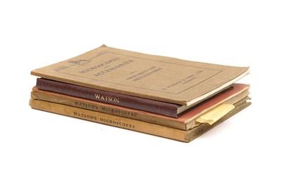 Lot 50 - Five Original Watson Catalogues