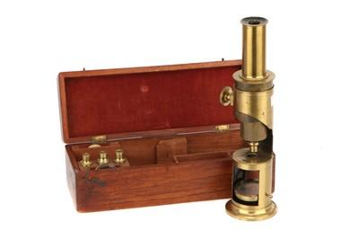 Lot 17-Martin-Type Drum Microscope