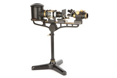 Lot 23-A Large Projection Microscope