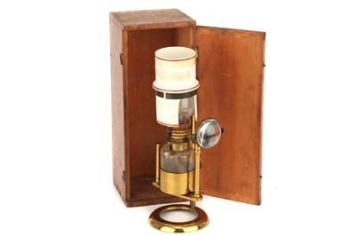 Lot 25-A Microscope Oil Lamp