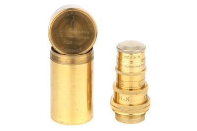 Lot 33-An Important Powell & Lealand 1/10 inch N.A. 1.5 Objective