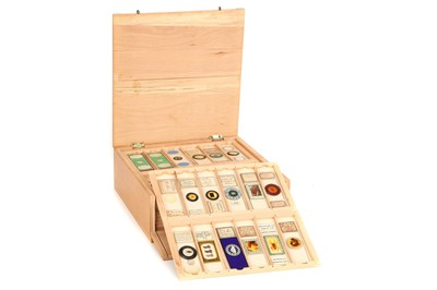 Lot 43-A good collection of Microscope Slides