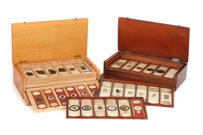 Lot 44-A Good Collection of Mineral Microscope Slides