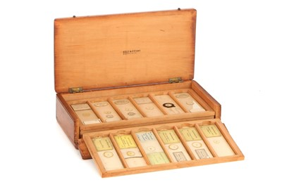 Lot 49-A Collection of Microscope Microphotograph Slides