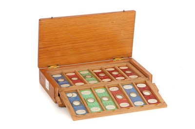 Lot 50-A Collection of Arranged Foraminifera Microscope Slides