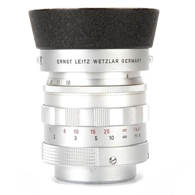 Lot 16 - A Leitz Summilux f/1.4 50mm Lens