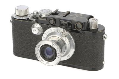 Lot 11 - A Leica IIIf Rangefinder Camera