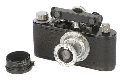 Lot 14 - A Leica I Standard E Camera