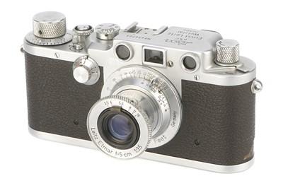 Lot 17 - A Leica IIIc Rangefinder Camera