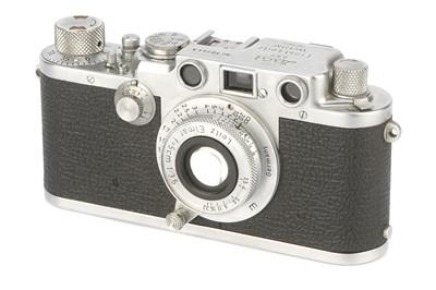 Lot 19 - A Leica IIIf 'Attrappe' Rangefinder Camera