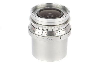 Lot 25 - A Leitz Super-Angulon f/4 21mm Lens