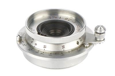 Lot 26 - A Leitz Hektor f/6.3 28mm Lens