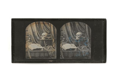 Lot 263 - THOMAS RICHARD WILLIAMS (1824-1871) A Stereoscopic Daguerreotype