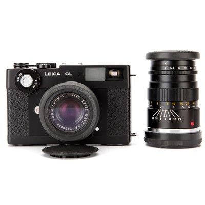 Lot 18-A Leica CL Rangefinder Camera