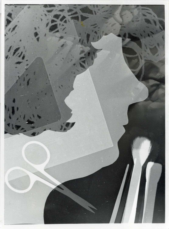 Lot 273 - VAVARA RODCHENKO (1925-2019) A Self-Portrait Photogram