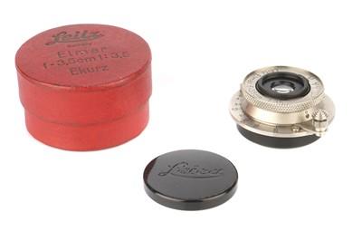 Lot 28 - A Leitz Elmar f/3.5 35mm Lens