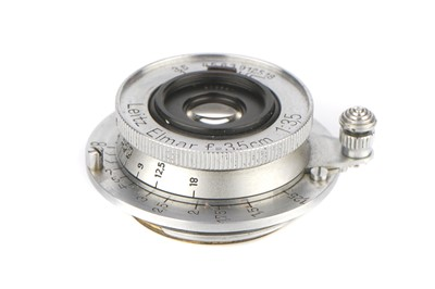 Lot 29 - A Leitz Elmar f/3.5 35mm Lens
