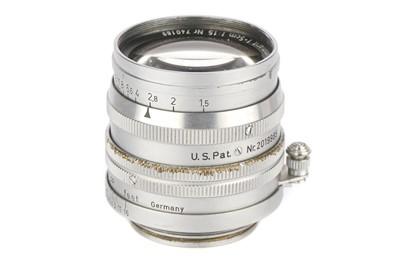 Lot 32 - A Leitz Summarit f/1.5 50mm Lens