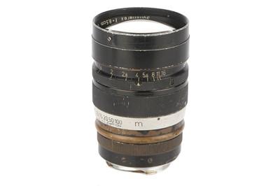 Lot 34 - A Leitz Summarex f/1.5 85mm Lens