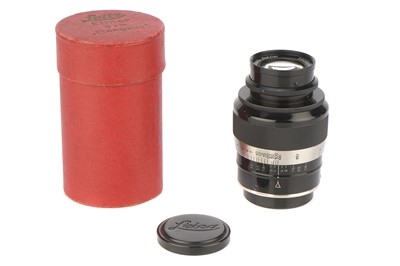 Lot 36 - A Leitz 'Fat' Elmar f/4 90mm Lens