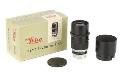 Lot 39 - A Leitz Telyt f/4.5 200mm Lens
