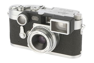 Lot 42-A Leica M3 DS Rangefinder Camera