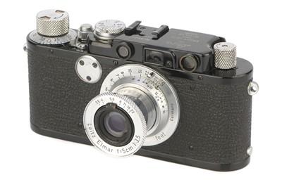 Lot 5 - A Leica IIf Rangefinder Camera