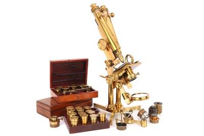 Lot 1-Francis H. Wenham's Original Prototype Binocular Microscope