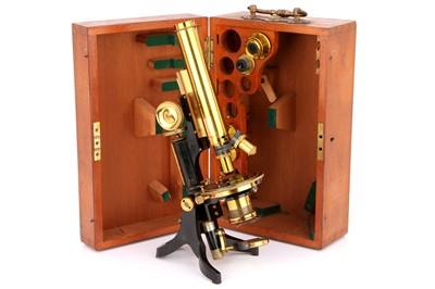 Lot 10-A Swift Petrological Microscope