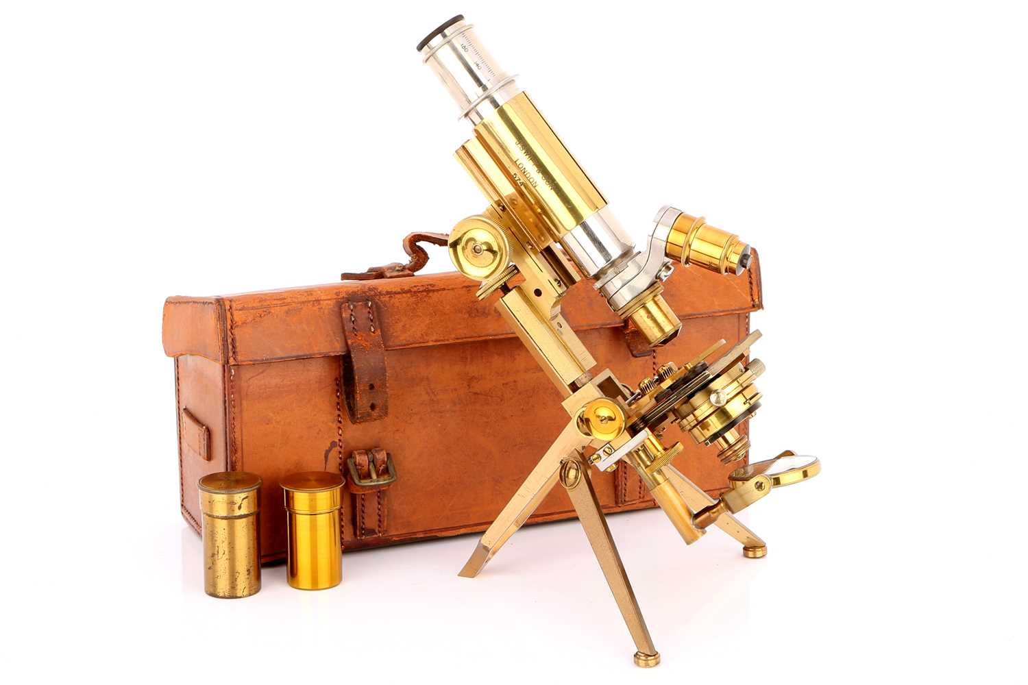 Lot 13-A Swift's Improved Clinical, Zoologist & Field Microscope