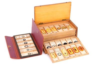 Lot 28-A Set of Microscope Slides