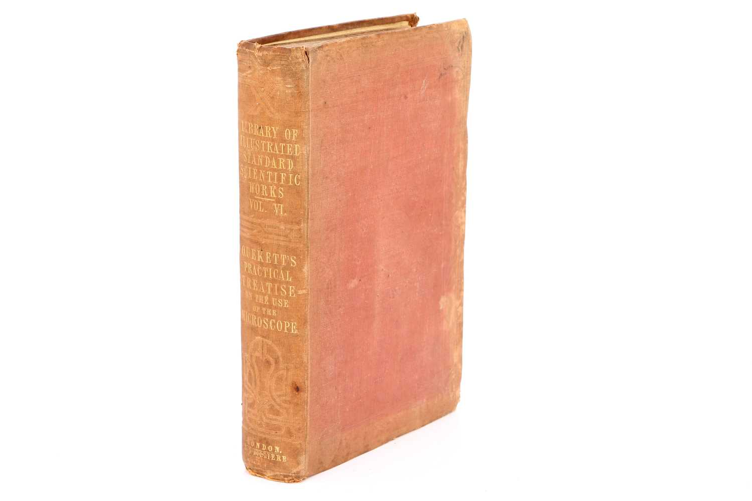 Lot 3-A Presentation Copy of Quekett's Practical Treatise on the Use of the Microscope