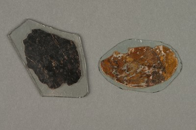 Lot 32-An Early Mineral Microscope Slides from The Robert Furguson Collection