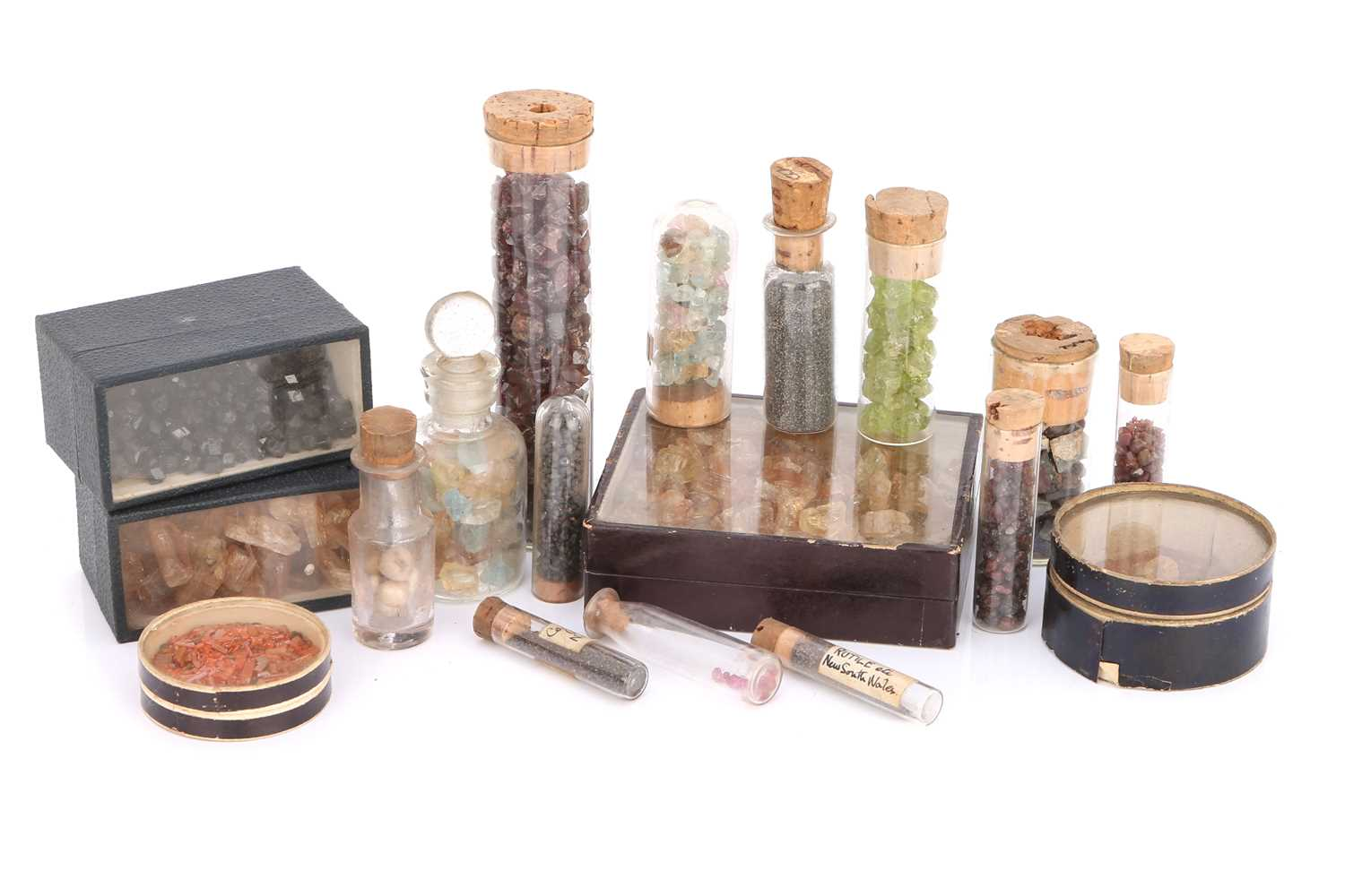Lot 38-A Collection of Stock Minerals From the Firm of Gregory & Bottley