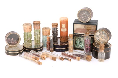 Lot 39-A Collection of Stock Minerals From the Firm of Gregory & Bottley