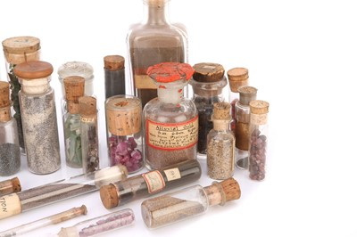 Lot 40-A Collection of Stock Minerals From the Firm of Gregory & Bottley