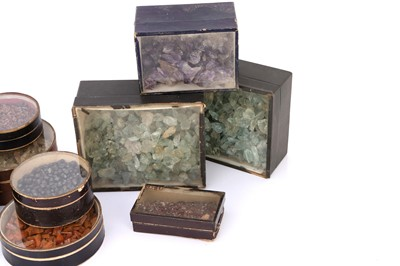 Lot 41-A Collection of Stock Minerals From the Firm of Gregory & Bottley